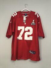 Osi Umenyiora New York Giants Super Bowl Sewn NFL Reebok Jersey Size Men's 54