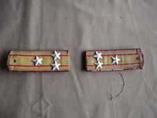 Rare Set of Bulgarian Military Navy Officer Shoulder Strap - Colonel rank   #361
