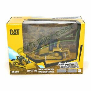 Cat Caterpillar D6R Track-Type Tractor 1/64 Scale Diecast Masters 85691