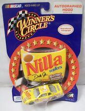 WINNER'S CIRCLE 1/24 DALE EARNHARDT JR #3 NILLA 2002 DIECAST W/ AUTOGRAPHED HOOD