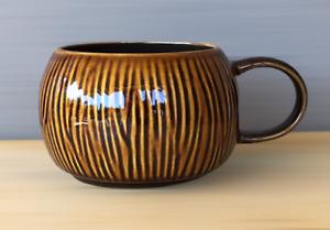 "Starbucks Coconut Mug 2013 Brown Glossy Ceramic 2.75""H Microwave Dishwasher Safe"