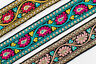 """01Yd Jacquard Trim 1.20"""" (3.04 CM)Wide Woven Border Ribbon Sew Embroidered T165"""