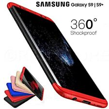 COVER per Samsung S9 / S9 PLUS Fronte Retro 360° ORIGINALE ARMOR CASE Slim