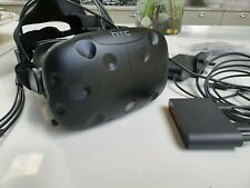 HTC Vive Headset, & Control box & extra face cushion, amazing condition!