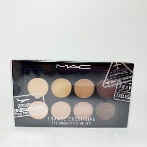 MAC Travel Exclusive Eye Shadow x 8 Amber Eyeshadow Palette SEALED Neutrals