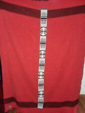 Native American Inspired Beaded Blanket Beaded on Braintan Leather