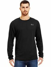 Under Armour UA Tech Long Sleeve BLACK Men's T-Shirt - Size XL - NWT