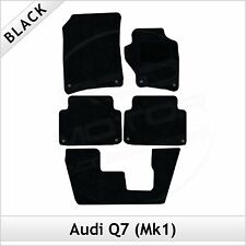 Audi Q7 Mk1 7-Seater 2006-2015 Tailored Fitted Carpet Car Floor Mats BLACK