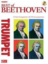 Play-Along The Best Of Beethoven Learn to Classical Songs Trumpet MUSIC BOOK CD