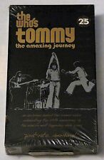 The Who's Tommy: The Amazing Journey - 25th Anniversary (VHS, 1994) NEW