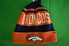 the latest 6d33f f9ab3  47 Brand NFL Denver Broncos Cuffed Toque Beanie Hat Knit Cap NWT ·