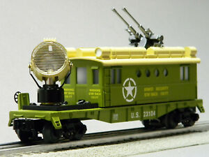 LIONEL O GAUGE UNITED STATES SECURITY CABOOSE #23104 army train 1923100-C NEW