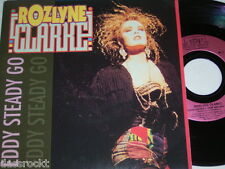 "7"" - Rozlyne Clarke / Eddy Steady go & Beatboxking´s new age - MINT 1990 # 3832"
