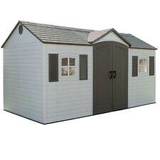 Lifetime Plastic Garden Shed 8x15 6446 Includes Floor and Steel Reinforcements