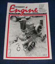 STATIONARY ENGINE MAGAZINE AUGUST 1990 NO.198 - THE 'OMNIA'