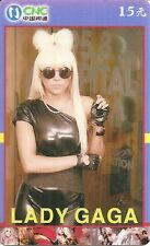 RARE / CARTE TELEPHONIQUE PREPAYEE - LADY GAGA / PHONECARD