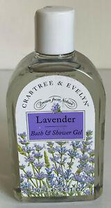 CRABTREE & EVELYN LAVENDER BATH & SHOWER GEL 250ML SALE