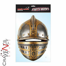 Medieval Soldier Helmet Mask Mask-arade Face Mask Impersonation Fancy Dress