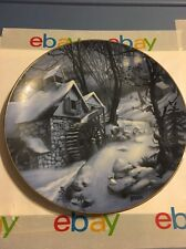 """SNOWBOUND""~ By Rob Sauber ~Winter Mindscapes ~ American Blues ~ 1989 PLATE"