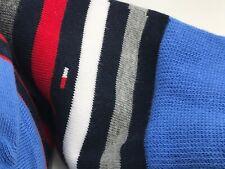 Men's TOMMY HILFIGER Gray 73% COTTON Dress Socks - 4 Pack - $36 MSRP 🇺🇸⛵
