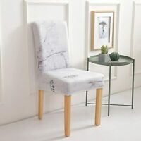 NEW*4pcs or 6 pcs  High Quality Full Dining Chair Covers Set Stretch Slipcover