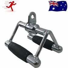 Chin Trianlge V Bar Close Grip Seated Row Handle Bar Cable Attachment Training
