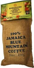 100 Percent Jamaica Blue Mountain Coffee Ridgelyne Roasted & Ground Organic 16oz