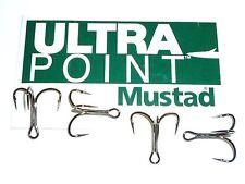 100 Mustad KVD-Elite Triple-Grip 1X Treble Hooks (Size 2) TG78NP-BN UltraPoint