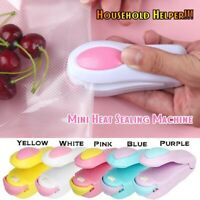 Mini Food Home Heat Sealing Machine Impulse Sealer Seal Packing Plastic Bag Tool
