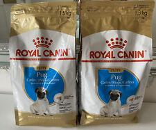 ROYAL CANIN Pug Dry Puppy Food Kibbles 1.5kg x2 Bags.