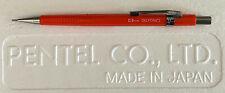 Limited Edition Pentel Sharp P209 Orange-Red Delfonics Pencil 0.9 mm Pencil