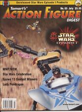 TOMART'S ACTION FIGURE Digest #65 July 1999 Star Wars Spawn WWF Lady Pendragon