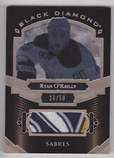 RYAN O'REILLY 2016-17 UD Black Diamond Pure Black Relics Prime Patch #D 26/50