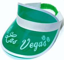 Las Vegas GREEN Visor hat gambling visors casino  fear and loathing in las vegas