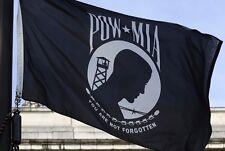 Pow Mia Polyester Flag Resistant You are Not Forgotten Prisoner of War Veteran