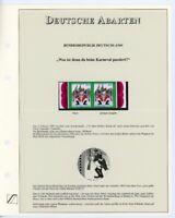 Bund Abart MiNr. 1903 I postfrisch MNH auf Sieger Katalogblatt (GF12852