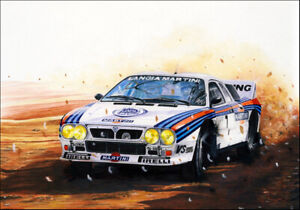 CARTOLINA POST CARD LANCIA 037