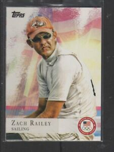 ZACH RAILEY - 2012 OLYMPICS SAILING - TOPPS #69