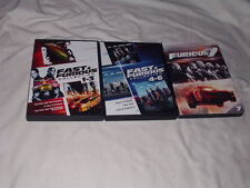 LOT of The Fast and the Furious 1+2+3+4+5+6+7 DVD's Dwayne Johnson Vin Diesel