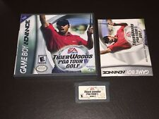 Tiger Woods Pga Tour Golf Nintendo Game Boy Advance Gba w/Case & Manual