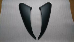 For  06-12 Porsche 987 Boxster Cayman Side Air Scoop Vents Unpainted