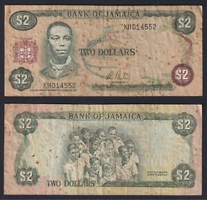 Giamaica 2 dollars 1982(86) MB/F  A-10