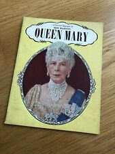 Rare 1940's Book Her Majesty Queen Mary Pictorial Biography Windsor Royal Family