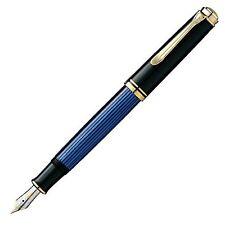 Pelikan Fountain Pen EF EXTRA FINE Blue Stripe Suberen M600