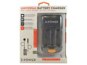 Universal Battery Charger Phone/Camera/Camcorder/ AA / AAA / USB CHARGING