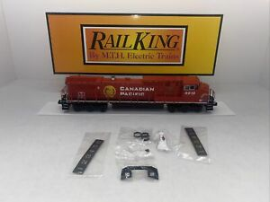 MTH RailKing 30-20435-1 Canadian Pacific Dash-8 Diesel LED Lights PS.3 O Used CP