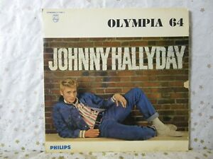 JOHNNY HALLYDAY LP ORIGINAL OLYMPIA 64 N° STANDARD B 77.987L