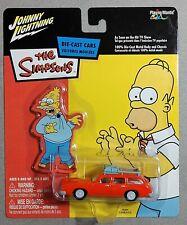Johnny Lightning WHITE LIGHTNING The Simpsons, Marge's Wagon w/ case