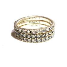 Fossil Modeschmuck-Ringe Edelstahl für Damen