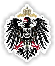 German Empire 1871-1918 Coat of Arms Sticker Deutsches Reich Bumper Helmet Truck